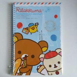 [NEW] 鬆弛熊筆記簿 Rilakkuma notebook