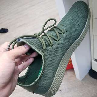 Adidas Pharrell Williams tennis hu green