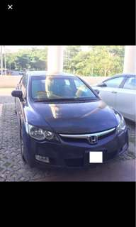Honda Civic FD 1.8 With leather seat