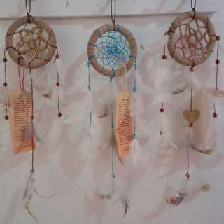 Doily dream catcher 3""
