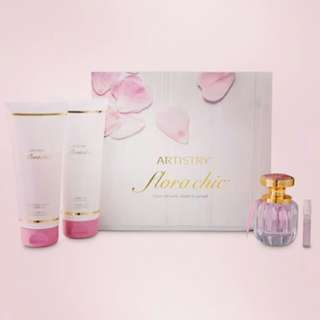 Artistry flora chic collection set