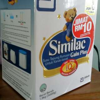 Similac Gain Plus S3 Refill