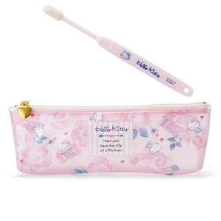 Japan Sanrio Hello Kitty Toothbrush Set (Gurley Travel)