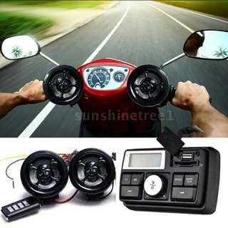 Radio for motorbike / motorcycle