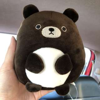 🚚 Yi Wan角洛動物🐻胖胖熊絨毛玩偶