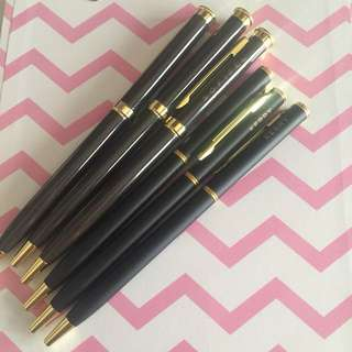Take all! Black ballpoint pens