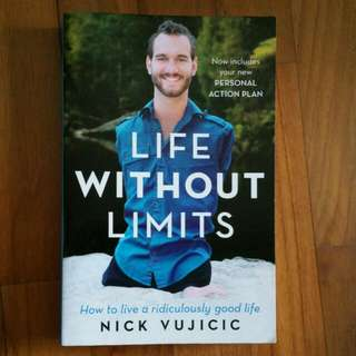 Life without limits book by Nick Vujicic