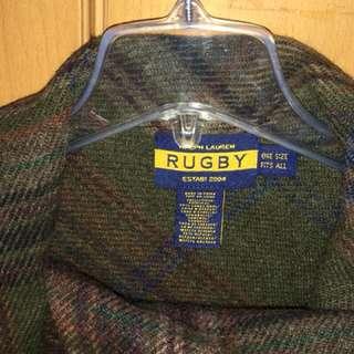 Rugby women cape 100 percent wool
