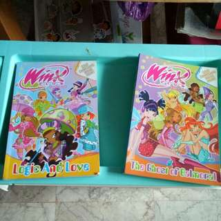 Winx club comic books
