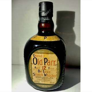 Scotch Whisky Grand Old Parr