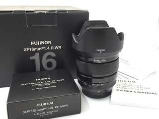 Fujifilm XF 16mm F1.4R WR
