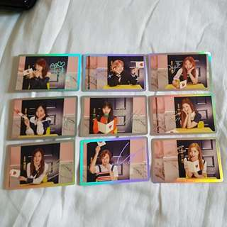 Twice Signal special photocard