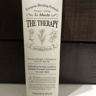 The Therapy Faceshop - hydrating formula emulsion