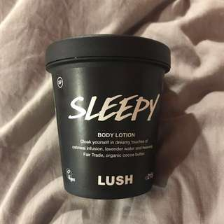 PO: BN LUSH SLEEPY LOTION 215g/95g