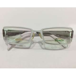 [INSTOCK] BROWNIES FULL FRAME PRESCRIPTION SPECTACLES / WEAR FOR FASHION