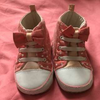Mothercare Baby High-Cut Booties