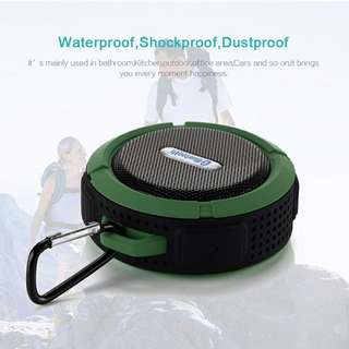 Portable water proof wireless bluetooth outdoor speaker (1 month local warranty)