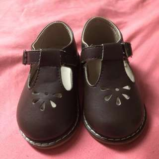 Lovely Lace Baby Leather Shoes