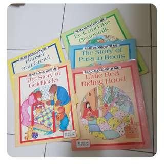 5 fairy tales books