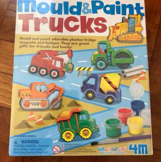 Mound and paint trucks brand new in box sealed