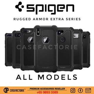Spigen Rugged Armor Extra iPhone Samsung LG Google Pixel