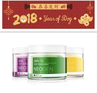 Cny sale Neogen bio peel pads bn assorted