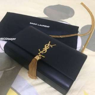YSL KATE TASSEL SATCHEL