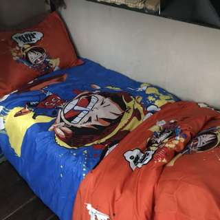 One piece anime Bedsheets 4 in 1