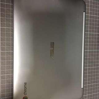 Asus c100p可接觸及360度反轉Chromebook
