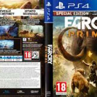 ps4 far cry primal and battlefield hardline