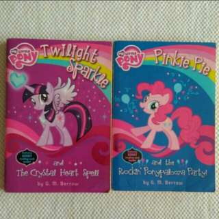 Paket 2 buku My Little Pony : Pinkie Pie dan Twilight Sparkle