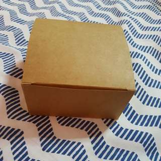 Kraft Lid Square Box (Short)