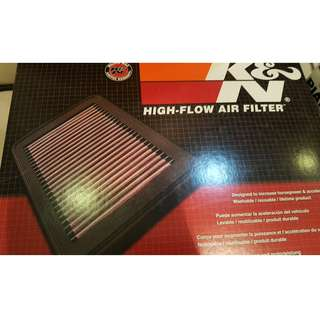K&N drop in air filter Mitsubishi Lancer GT