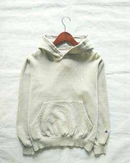 champion hoodie light grey