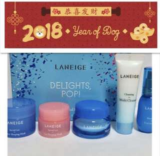 Cny sale Laneige limited delights pop set bnib