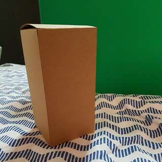Kraft Lid Rectangle Box (Medium)