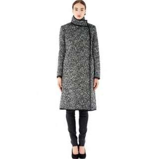 Scanlan Theodore Boucle Wool Coat