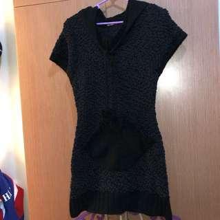 Hoodie Dress- Small