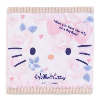 Japan Sanrio Hello Kitty Petit Small Towel (Gurley Travel)
