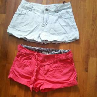 2@$10 H&M Girl Shorts (Size 11 to 13 year)