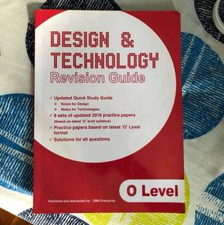 Design and technology o level