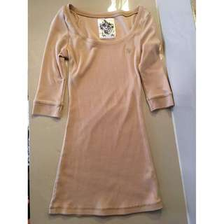 HSE PEACH LONG SLEEVES (body fit)