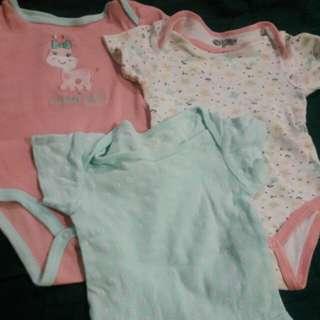 Baby gear onesies 3-6 mos