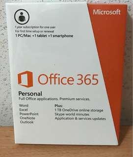 Microsoft Office 365 (brand new)