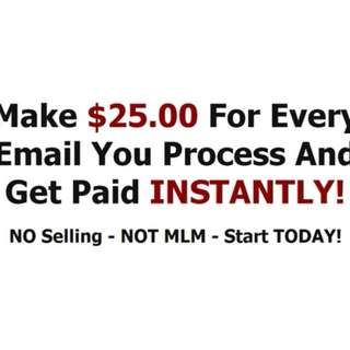 Daily paid! Work simply from home!