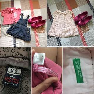For Baby (Zara/ Guess/ United Colors of Benetton