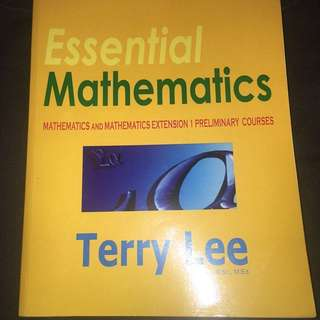 Terry Lee Mathematics Extension 1