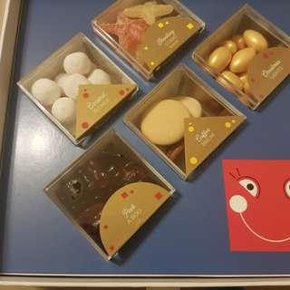 The Bonbonist糖果5種味道共一盒原價$300