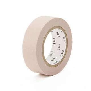 MT Pastel Brown Washi Tape Sample [#MT001W]