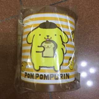 泰國正版布甸狗薄膠筆筒Pompompurin